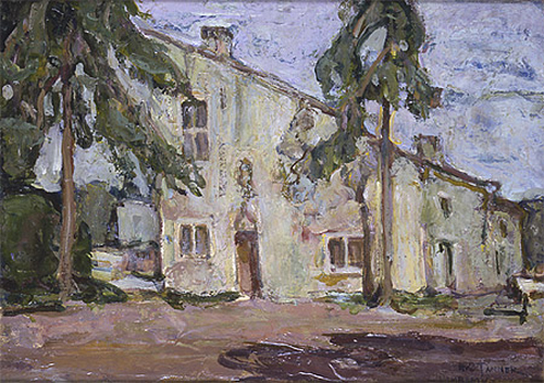 Birthplace of Joan of Arc at Domremy-la-Puccelle - Henry Ossawa Tanner