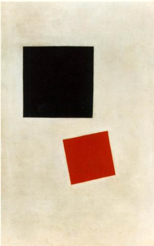 Black Square and Red Square - Kazimir Malevich