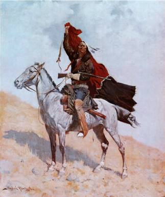 Blanket Signal - Frederic Remington