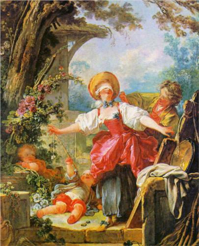Blind Man's Bluff - Jean Honore Fragonard