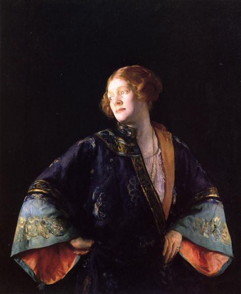 Blue Mandarin Coat - Joseph DeCamp