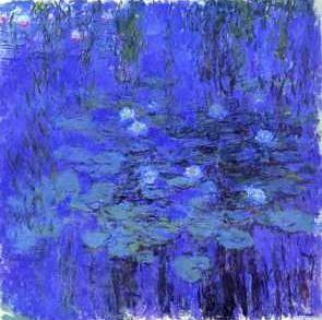 Blue Water Lilies - Claude Monet