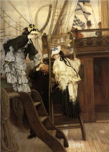 Boarding the Yacht - James Tissot