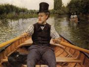 Boating Party - Gustave Caillebotte