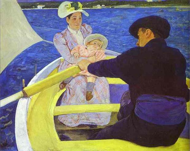 The Boating Party - Mary Cassatt