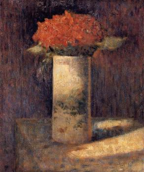Bouquet in a Vase - Georges Seurat