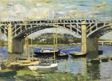 Bridge at Argenteuil - Claude Monet