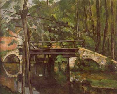 Bridge of Mancy - Paul Cezanne