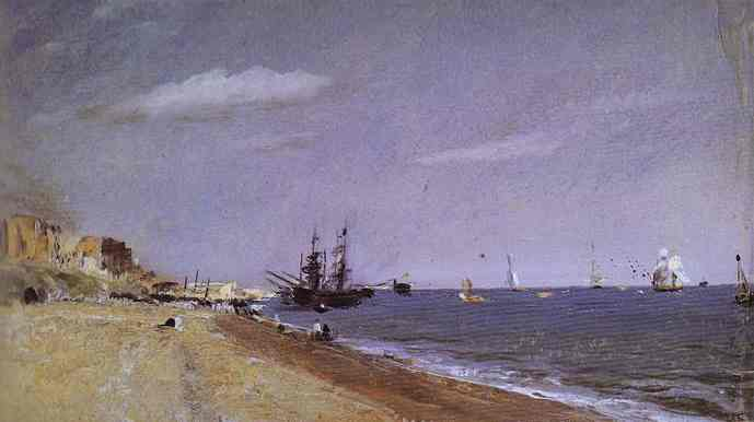 Brighton Beach with Colliers - John Constable