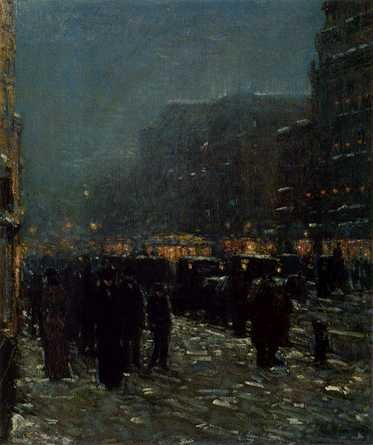 Broadway and 42nd Street, 1902 - Childe Hassam