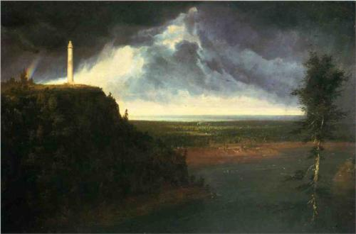 Brock's Monument - Thomas Cole