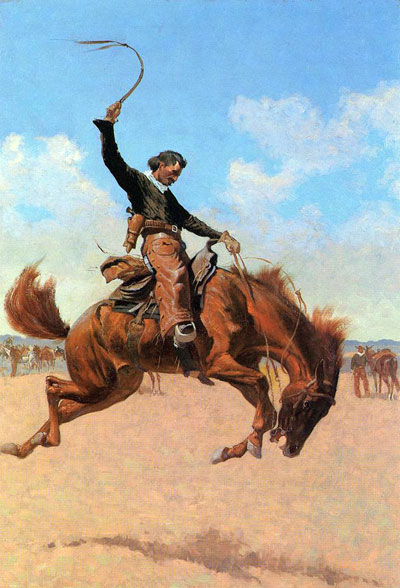 Bronco Buster - Frederic Remington