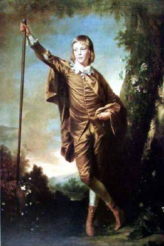 Brown Boy - Joshua Reynolds