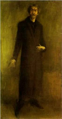 Brown & Gold Self Portrait - James McNeill Whistler