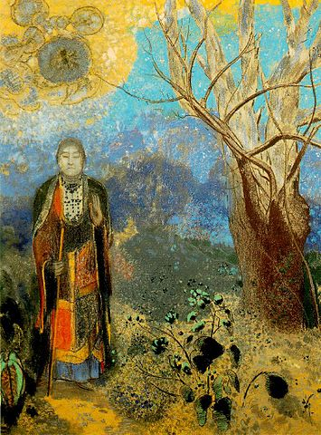 The Buddha - Odilon Redon