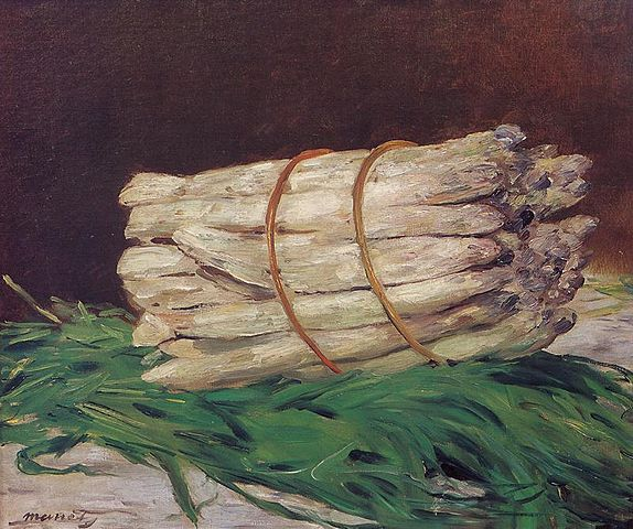 Bundle of Asparagus - Edouard Manet