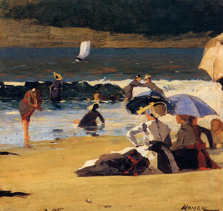 By the Shore - Winslow Homer