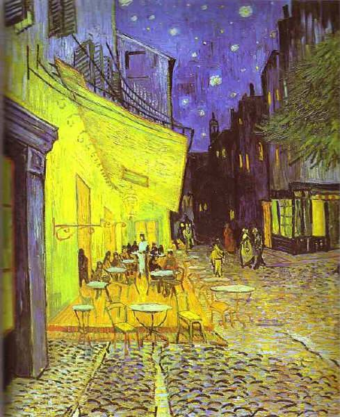 Café Terrace - Place du Forum Vincent van Gogh