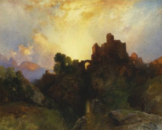 Caledonia Stern and Wild - Thomas Moran