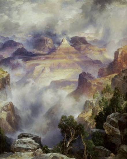 Canyon Mists - Thomas Moran
