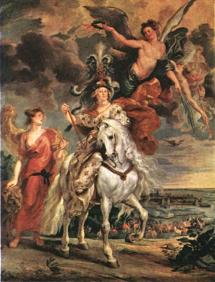 Capture of Juliers - Peter Paul Rubens