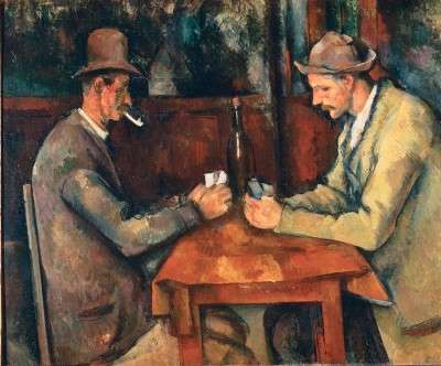 Card Players - Paul Cezanne