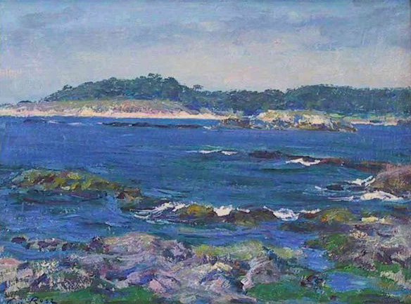Carmel Bay - Guy Rose
