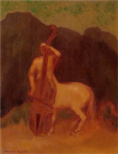 Centaur with Cello - Odilon Redon