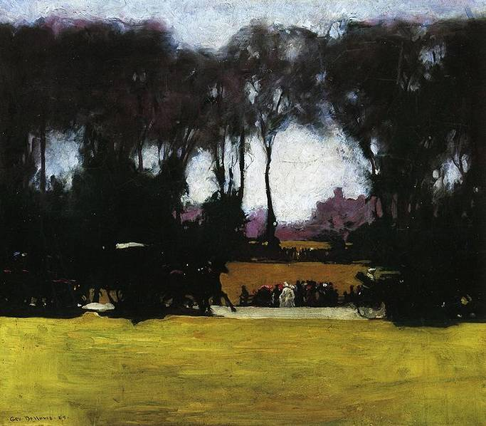 Central Park - George Bellows