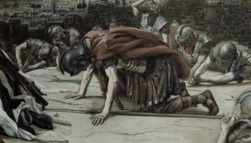 Centurion Glorifies God - James Tissot
