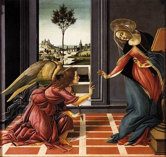 Cestello Annunciation - Sandro Botticelli