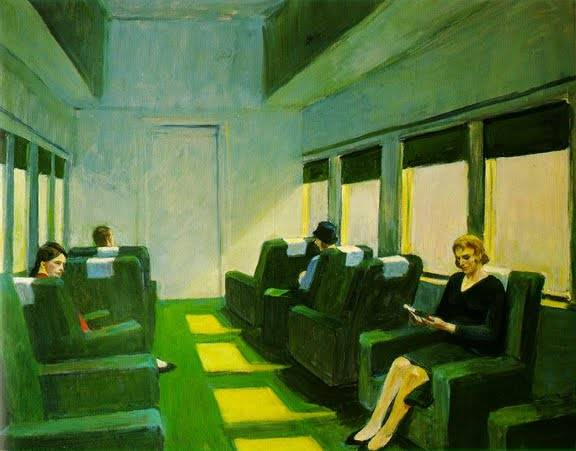 Chair Car - Edward Hopper