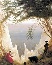 Chalk Cliffs on Rugen - Caspar David Friedrich