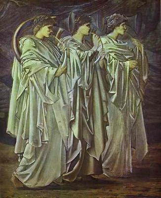 Challenge in the Wilderness - Edward Coley Burne Jones