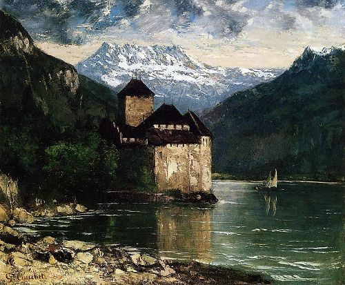 Chateau du Chillon - Gustave Courbet