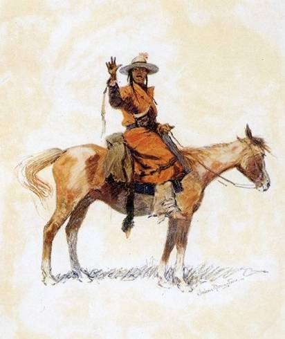 Chieftain - Frederic Remington