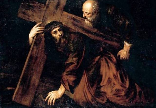 Christ Carrying the Cross - Tiziano Titian Vecellio