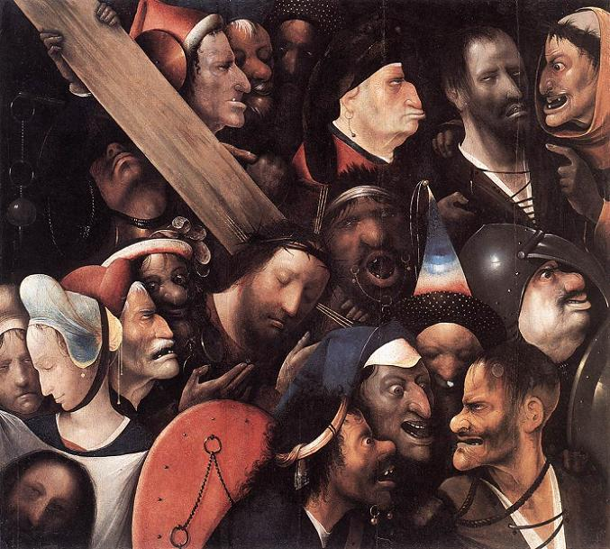 Christ Carrying the Cross - Hieronymus Bosch