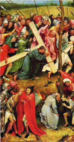 Christ Carrying the Cross II - Hieronymus Bosch