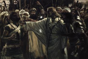 Christ Healing the Ear of Malchus - James Tissot