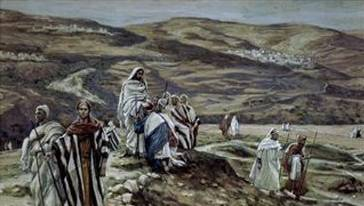 Christ Sending Out the Seventy Disciples - James Tissot