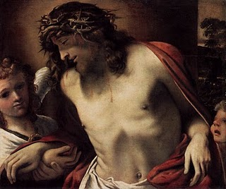 Christ Wearing the Crown of Thorns - Annibale Carracci