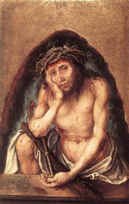 Christ as the Man of Sorrows - Albrecht Durer