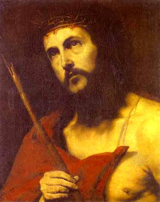 Christ in the Crown of Thorns - Jose de Ribera