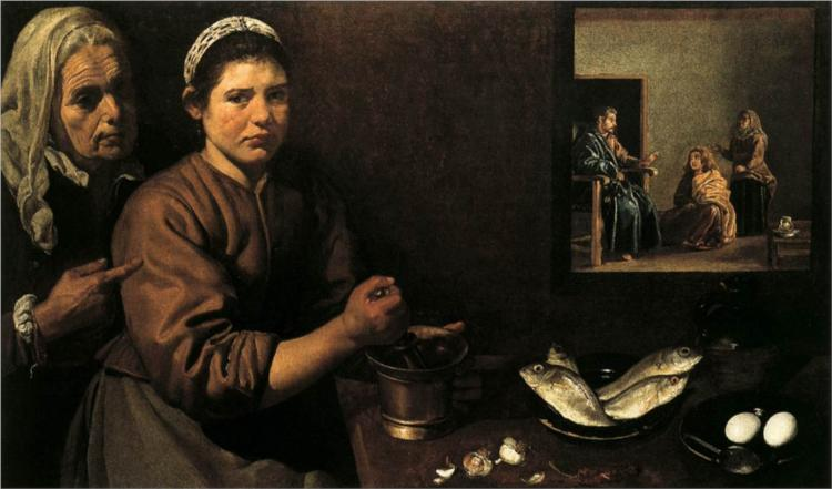 Christ in the House of Martha and Mary - Diego Velazquez