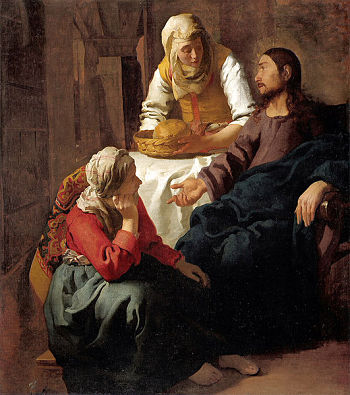 Christ in the House of Martha and Mary - Jan Vermeer van Delft