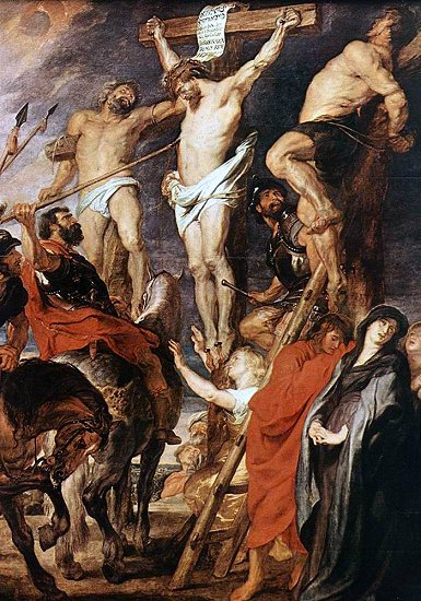 Christ on the Cross - Peter Paul Rubens
