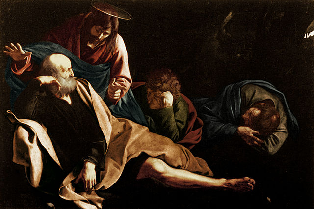 Christ on the Mount of Olives - Caravaggio
