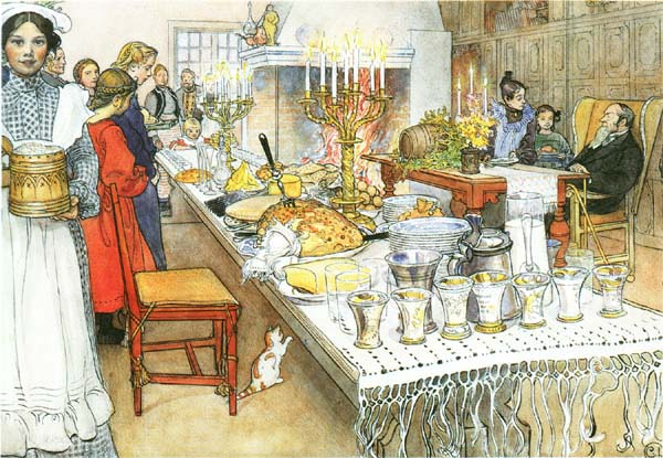 Christmas Eve - Carl Larsson
