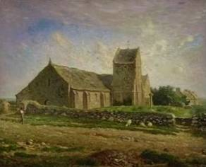 Church at Greville - Jean Francois Millet